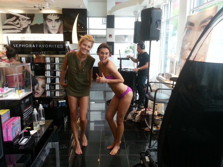Vita Liberata Complimentary Spray Tan at Sephora Miami