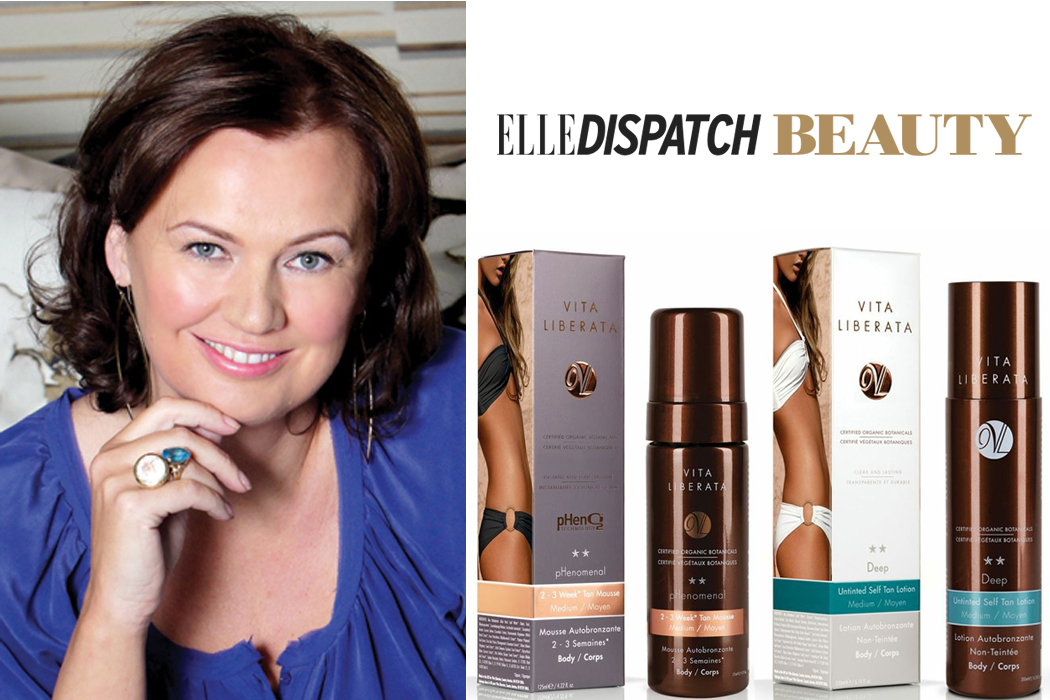 Vita Liberata in Elle: Beauty Chat with Alyson Hogg