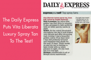 The Daily Express Puts Vita Liberata Luxury Spray Tan To The Test!