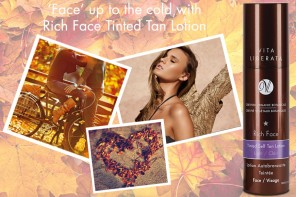 Face up to the cold with Rich Face Tinted Tan Lotion!