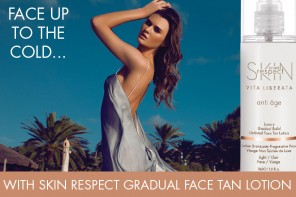 Face up to the cold with Skin Respect Gradual Build Untinted Face Tan Lotion