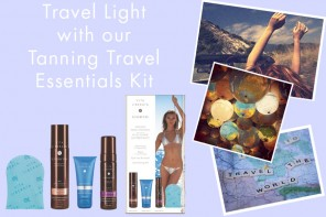 Travel Light with Tanning Travel Essentials!