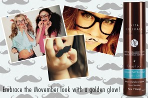 Warm up his skin with Deep Face Gradual Self Tan Lotion this Movember!
