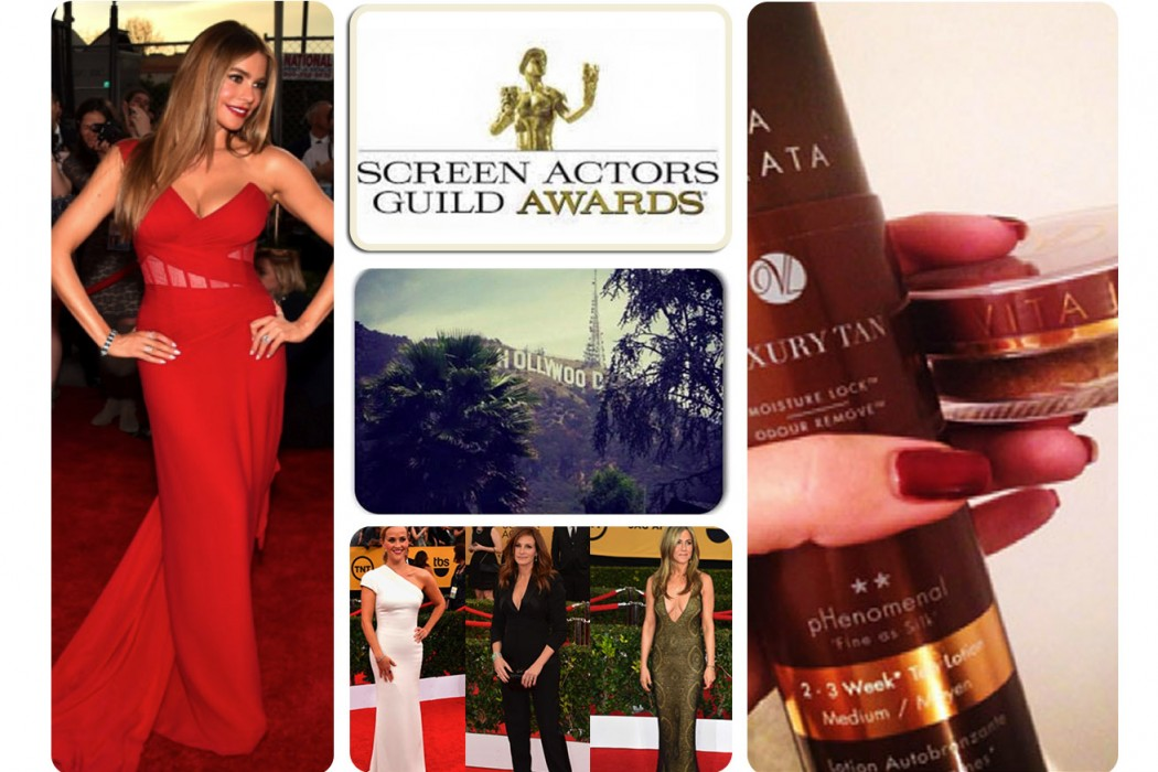 phenomenal tans on show at SAG Awards 2015