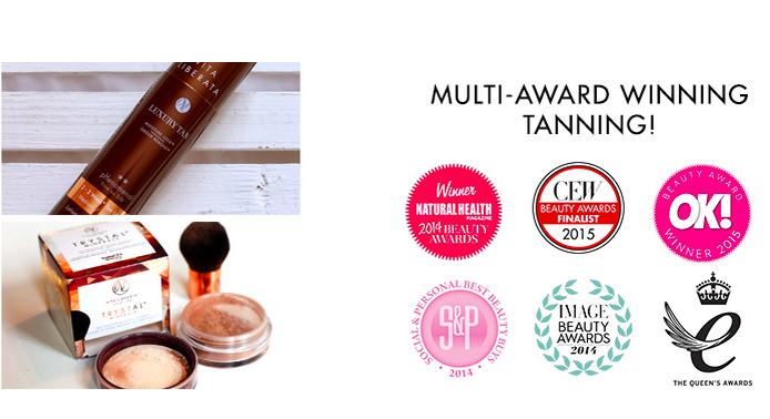 Award winning tan from Vita Liberata