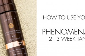 How to apply your pHenomenal 2-3 week tan