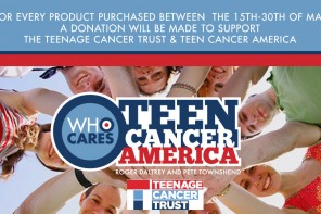 Supporting Teenage Cancer Charities