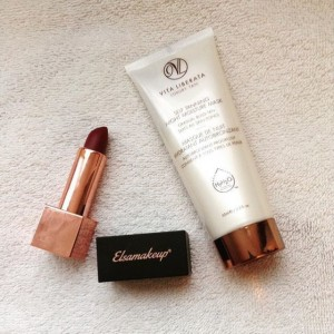 Pauline_pscl glows glam with Self Tanning Night Moisture Mask & her fav lippy